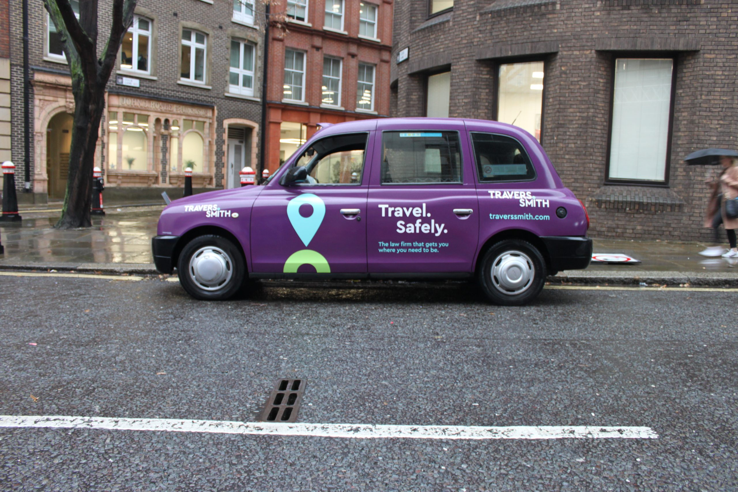 Taxi Advertising Formats - Full Wrap